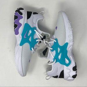 Nike Shoes - Nike React Presto Cassette White Night Maroon